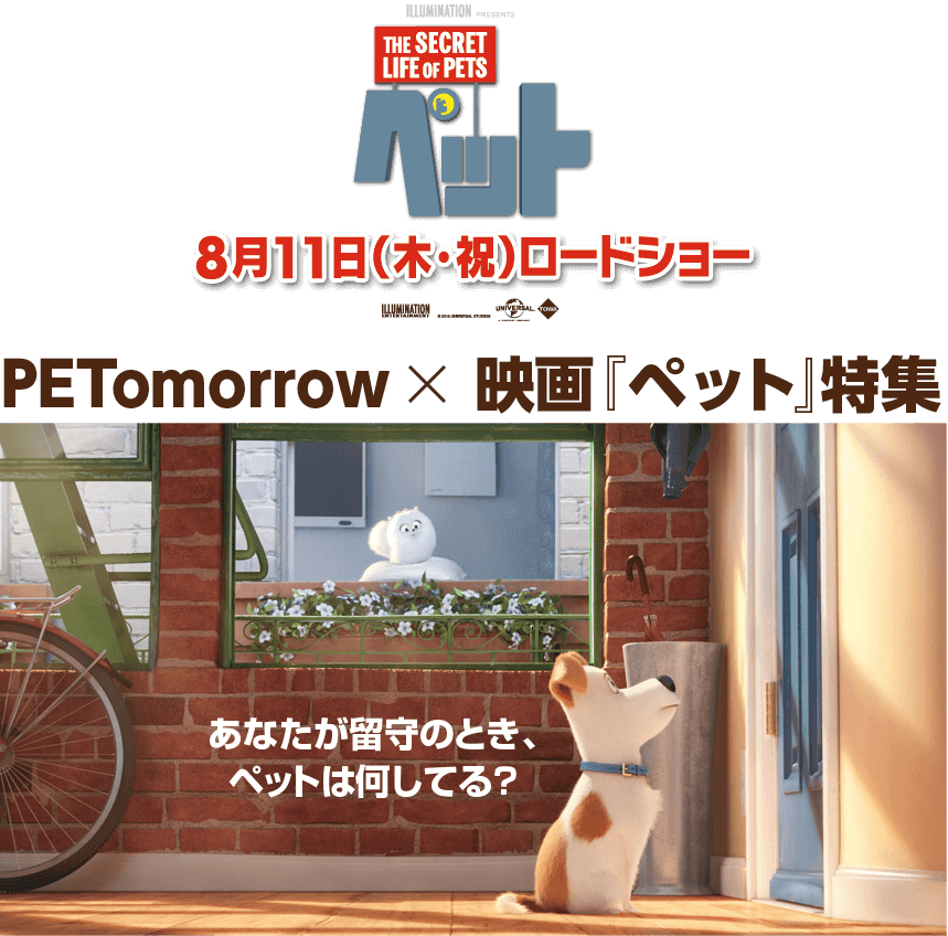 PETomorrow × 映画『PET』特集